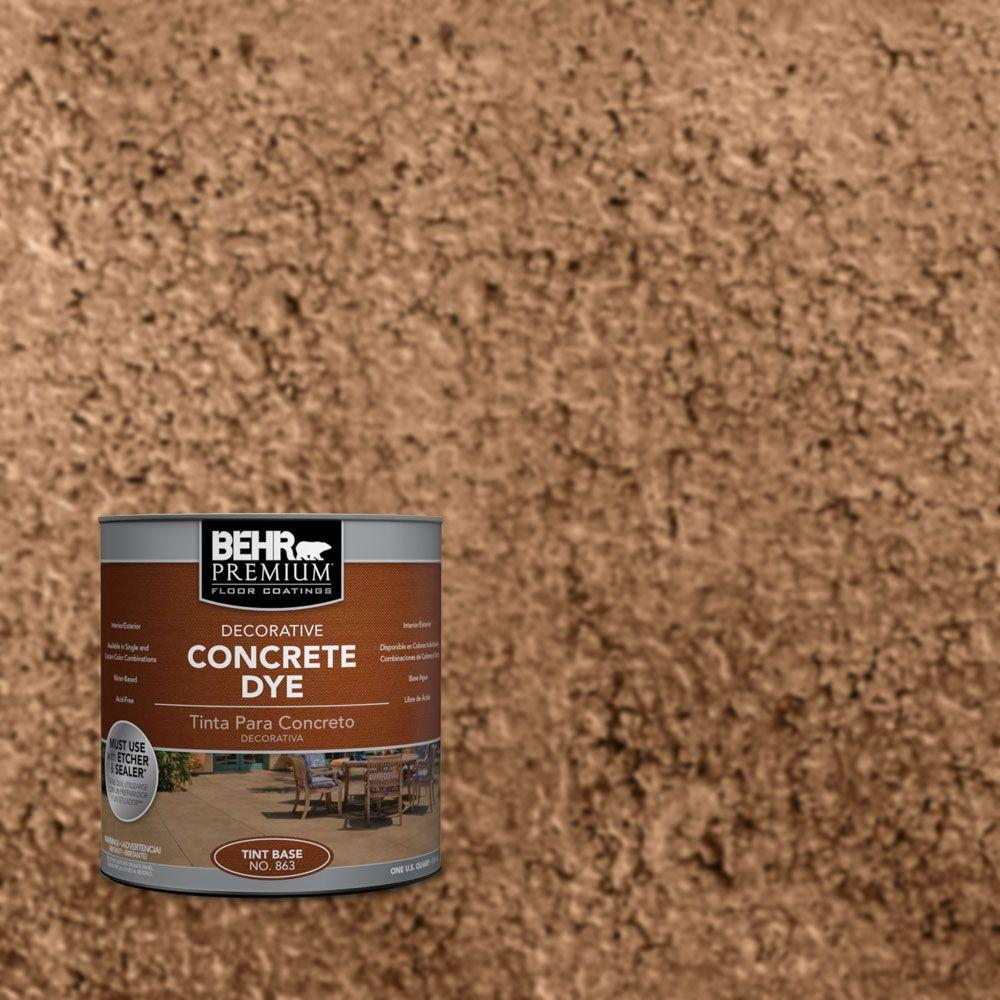 1 qt. #CD-810 Baked Earth Concrete Dye