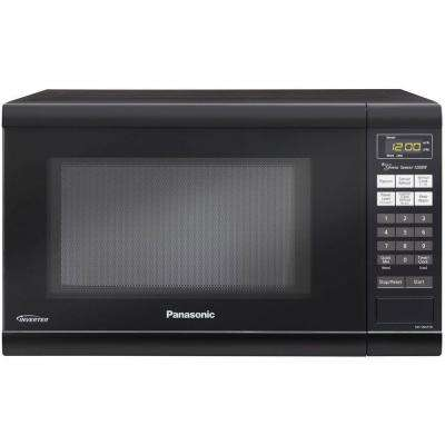 Family Size 1.2 cu. ft. 1200-Watt Countertop Microwave in Black