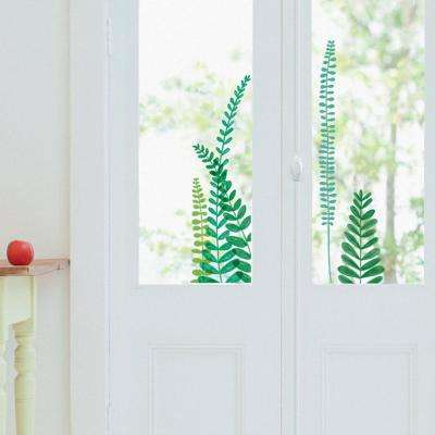 Multi-Color Fern Themed Wall Decal