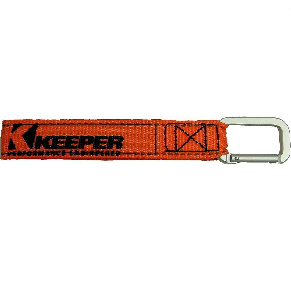 Keeper Orange Wrap-It-Up Carabiner Straps