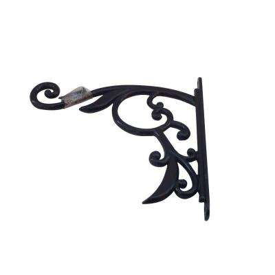 Black Iron Decorative Plant Bracket