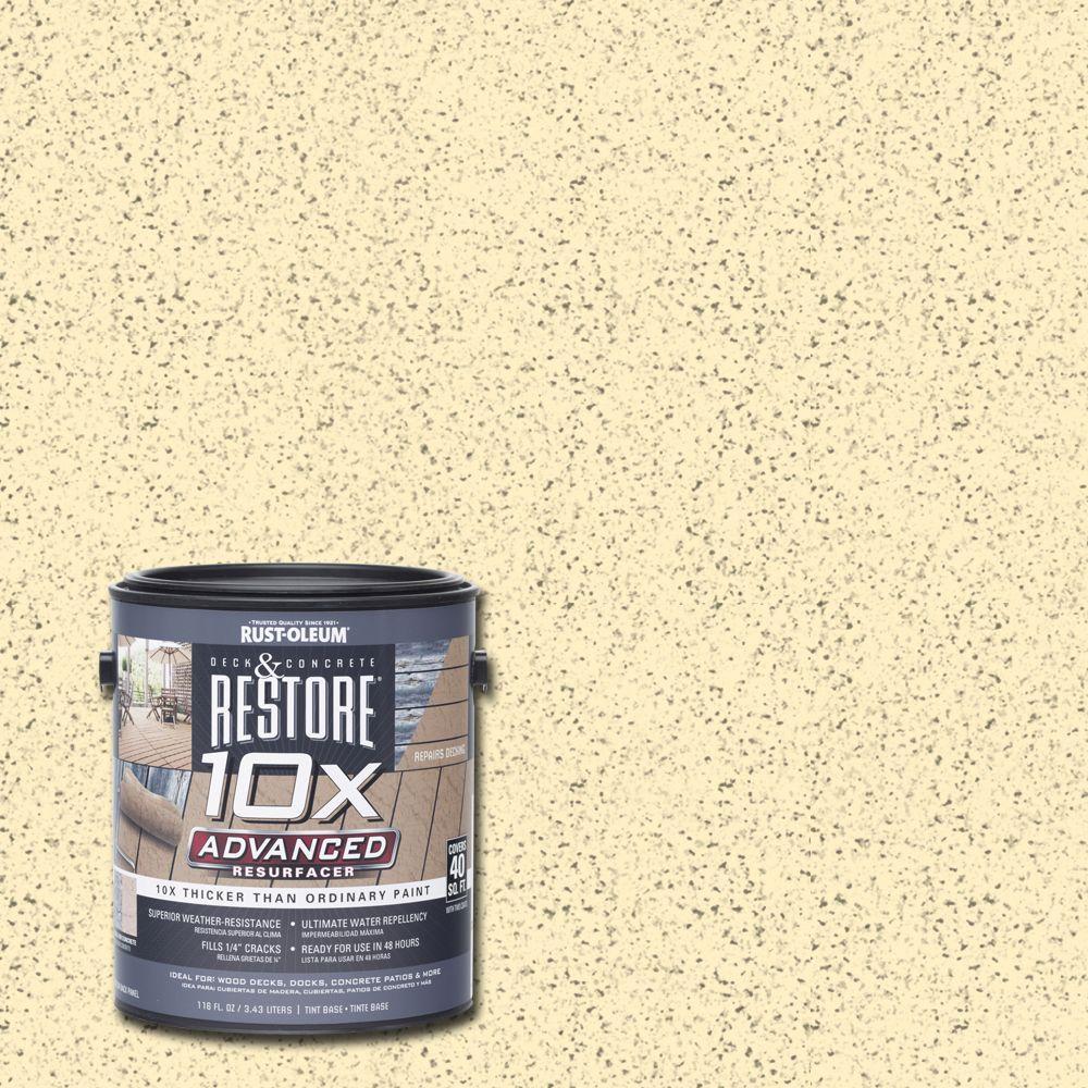 1 gal. 10X Advanced Parchment Deck and Concrete Resurfacer