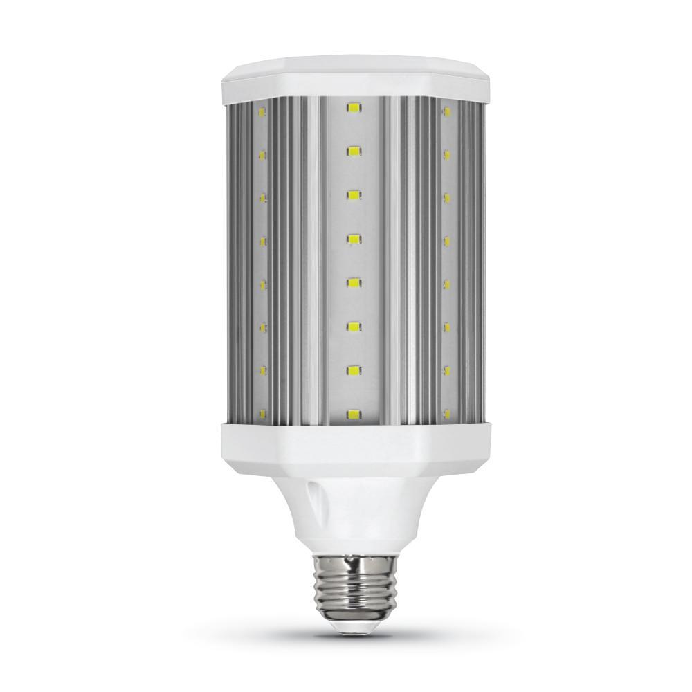 300-Watt Equivalent Corn Cob High Lumen Daylight (5000K) HID Utility LED Light Bulb (1-Bulb)
