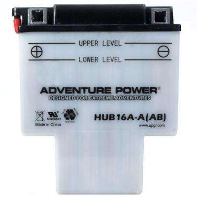 Conventional Wet Pack 12-Volt 16 Ah Capacity G Terminal Battery