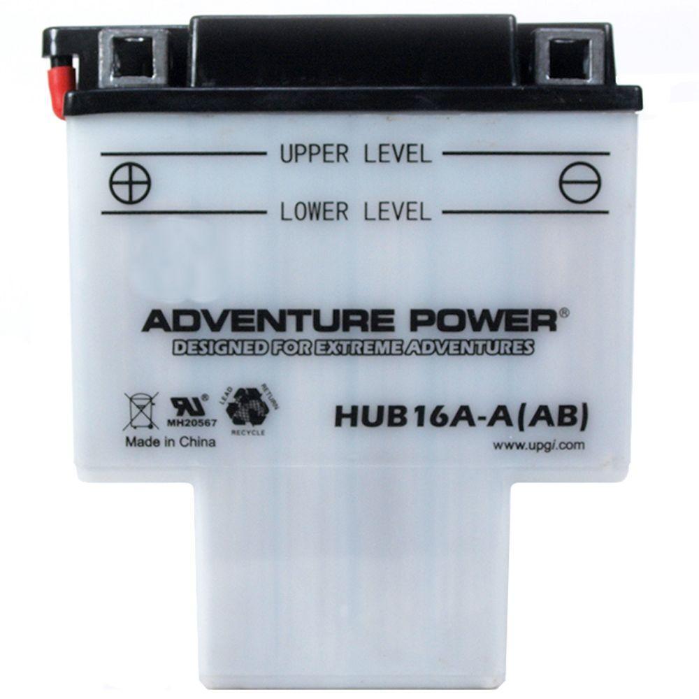 High Performance Conventional 12-Volt 16 Ah G Terminal Battery