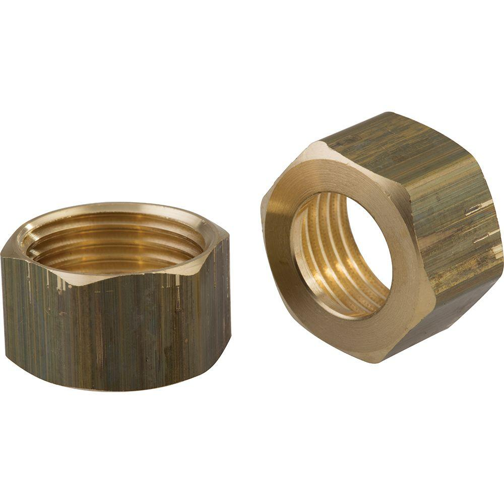Delta Pair of Coupling Nuts