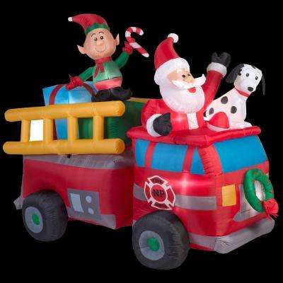 3 - 6 - Christmas Inflatables - Outdoor Christmas Decorations ...