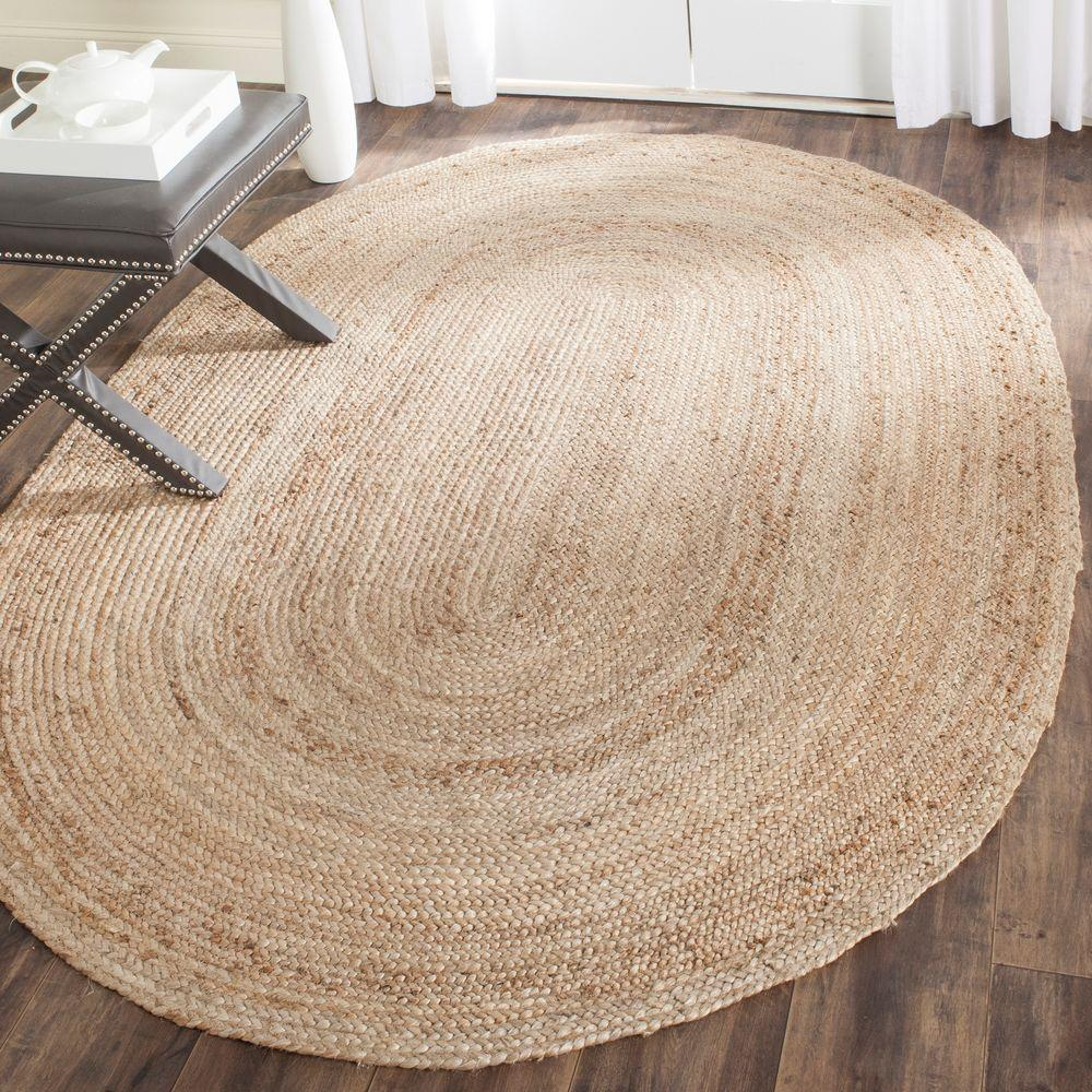 Cape Cod Natural 4 ft. x 6 ft. Oval Area Rug