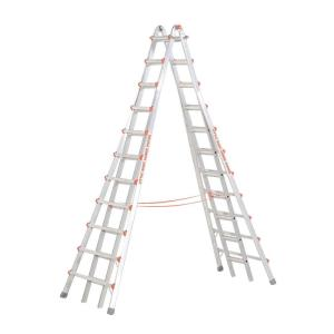 Little Giant Ladder Systems SkyScraper 21 ft. Aluminum Step Multi-Position Ladder with 300 lb. Load Capacity... by Little Giant Ladder Systems