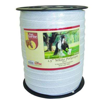 1.5 in. x 825 ft. White Reinforced Polytape