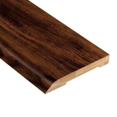 Strand Woven Acacia 1/2 in. Thick x 3-1/2 in. Wide x 94 in. Length Bamboo Wall Base Molding