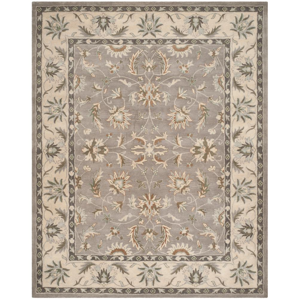 Safavieh Heritage Gray Beige 8 Ft X 10 Ft Area Rug