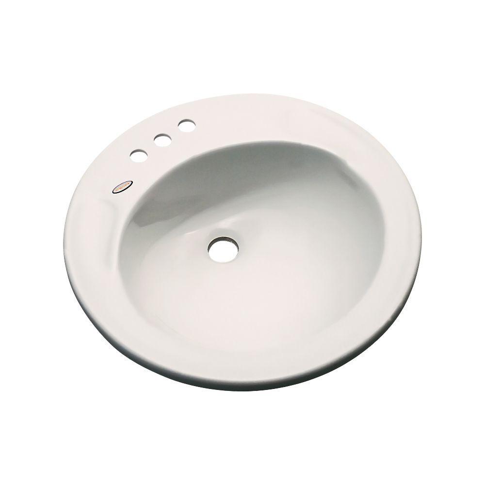 Province Drop-In Bathroom Sink in Natural