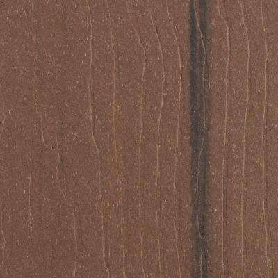 Vantage 1 in. x 5-3/8 in. x 12 ft. Walnut Grooved Edge Composite Decking Board (10-Pack)