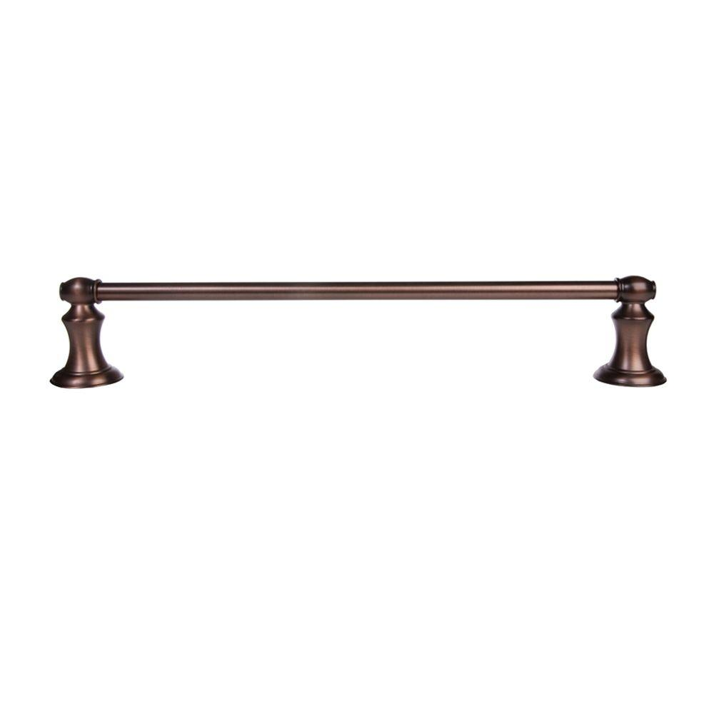 ARISTA Highlander Collection 24 in. Towel Bar in Oil Rubbed Bronze