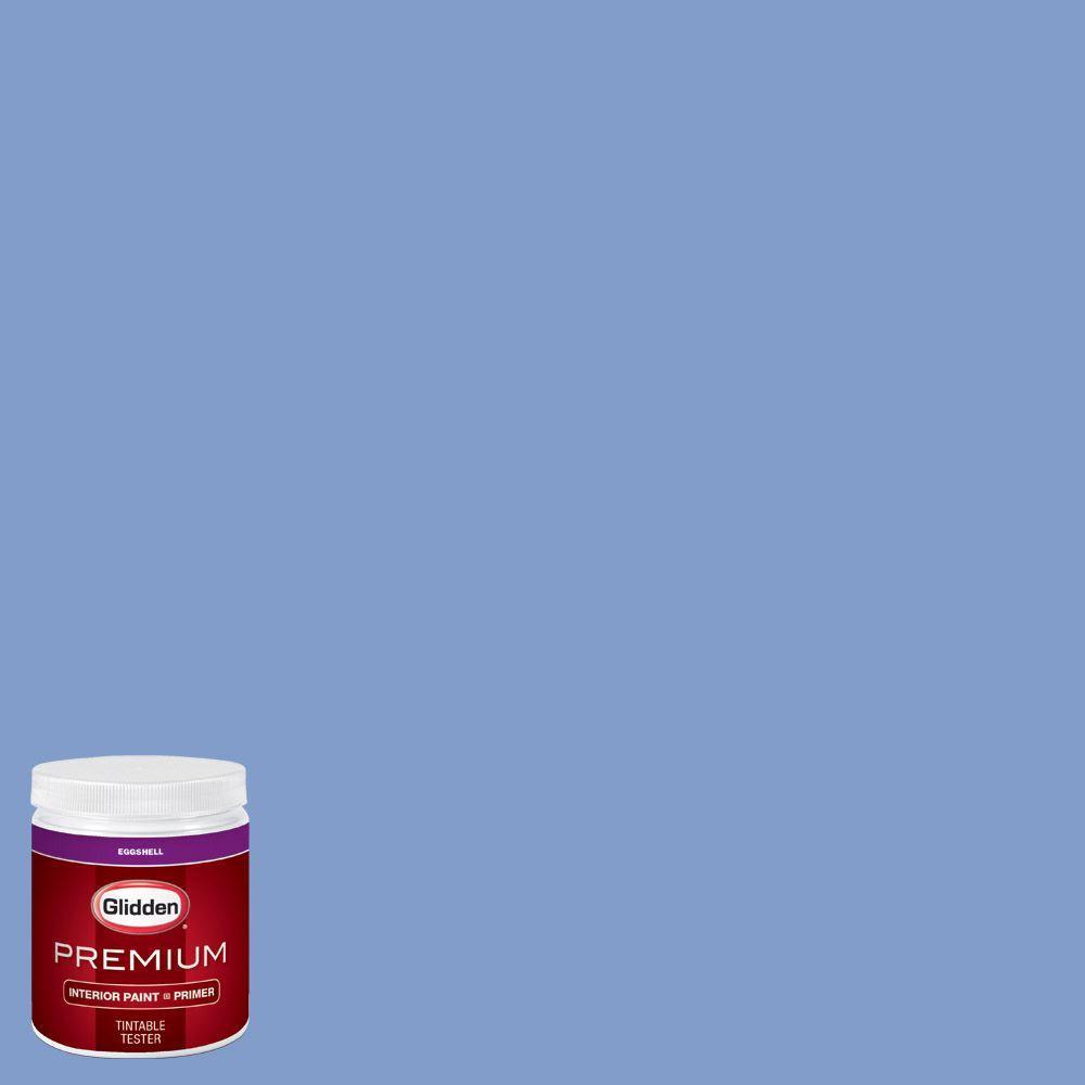 Glidden Premium 8 Oz Hdgv28d Blue Phlox Eggshell