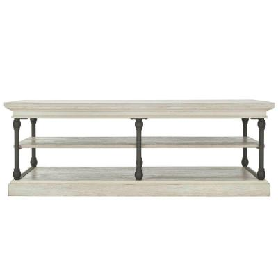 Manor Drive White Wash Coffee Table