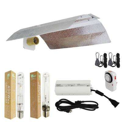 400-Watt HPS/MH Grow Light System with 19 in. Basic Wing Reflector
