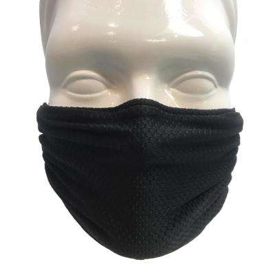 Multipurpose Washable/Reusable Dust, Pollen and Germ Mask - Black