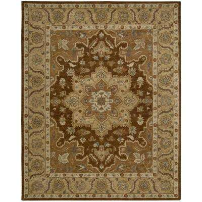 India House Chocolate 8 ft. x 10 ft. 6 in. Area Rug