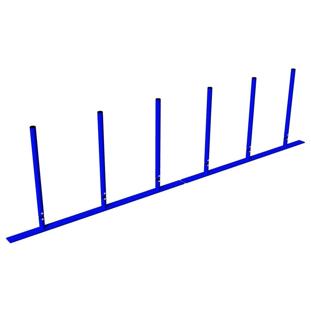 Ultra Play Blue Dog Park Commercial Weave Posts