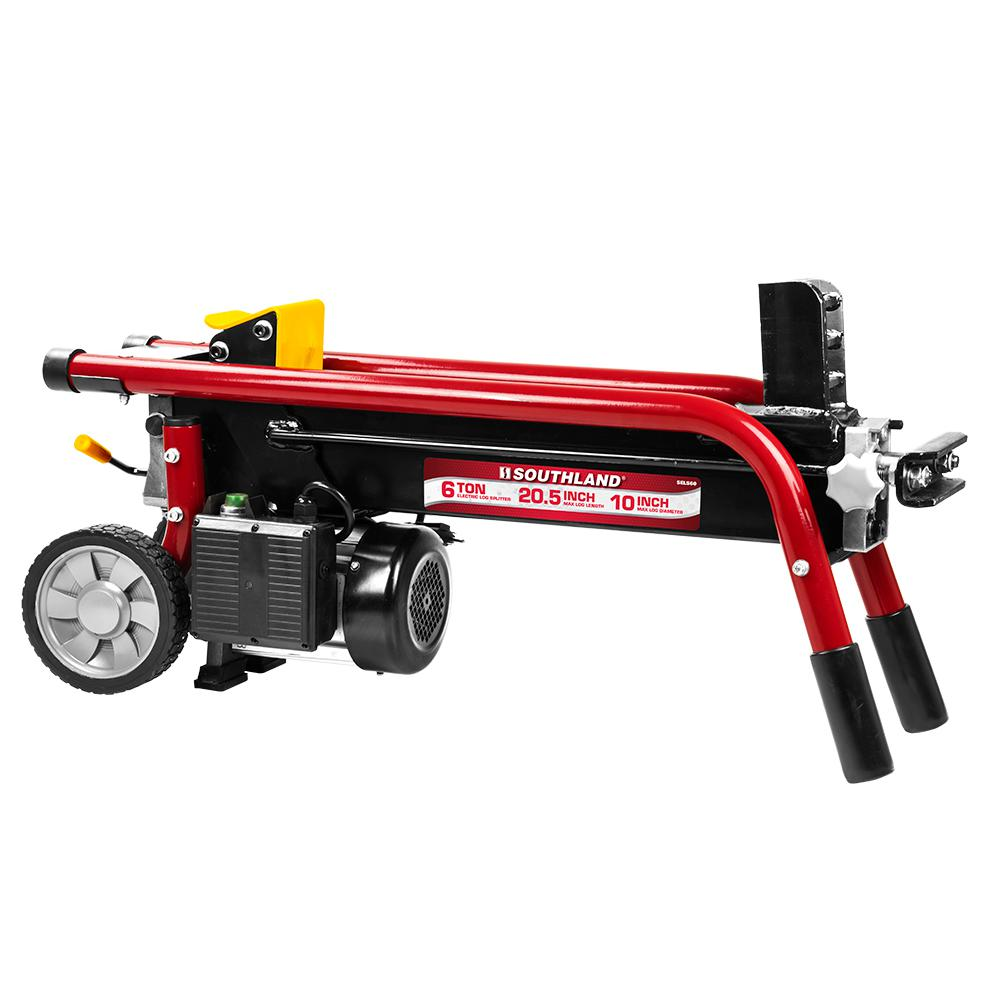 6 Ton 15 Amp Electric Log Splitter