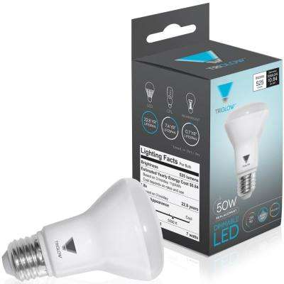 50-Watt Equivalent BR20 Dimmable LED Light Bulb Daylight