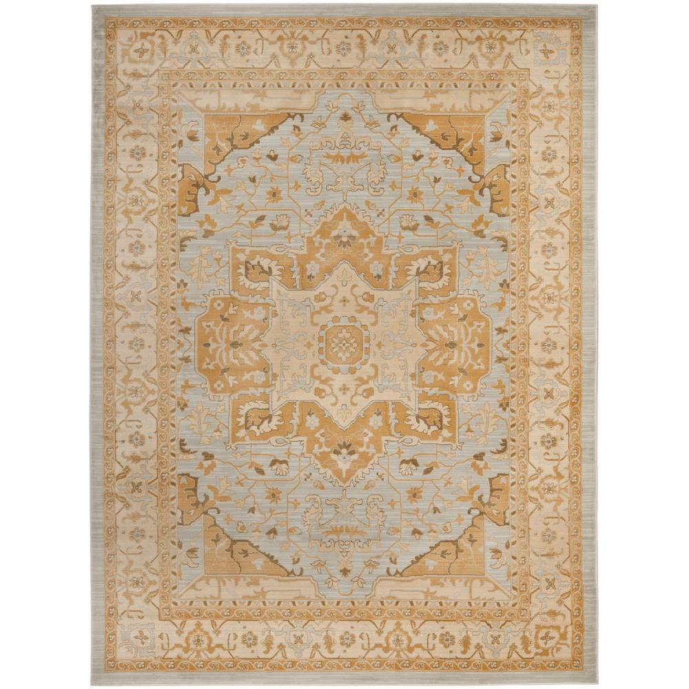 Safavieh Austin Light Grey/Gold 9 ft. 6 in. x 13 ft. Area Rug