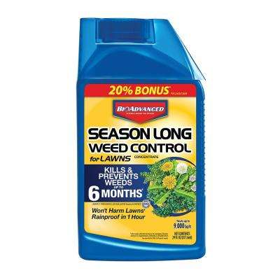 24 oz. Concentrate Season Long Weed Control for Lawns