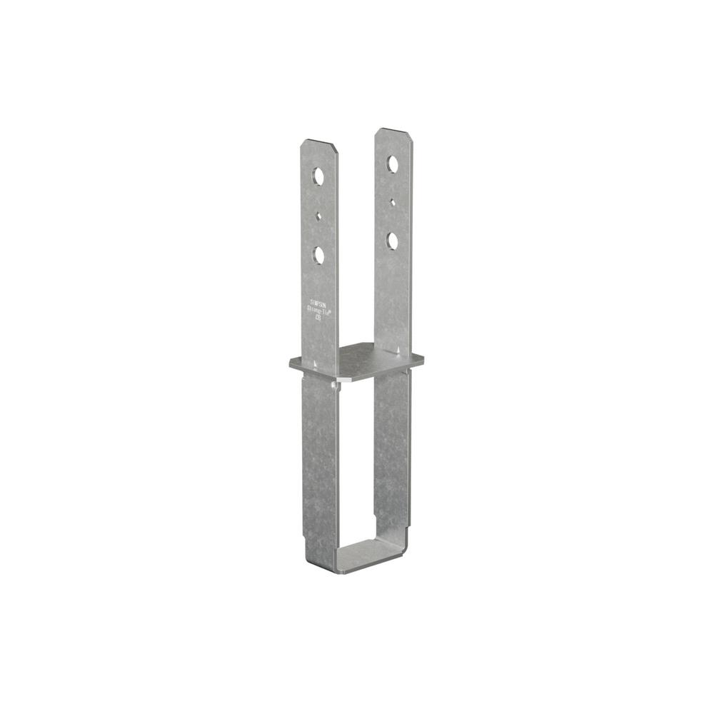 Simpson Strong-Tie CB Galvanized Column Base for 4x4 Nominal Lumber