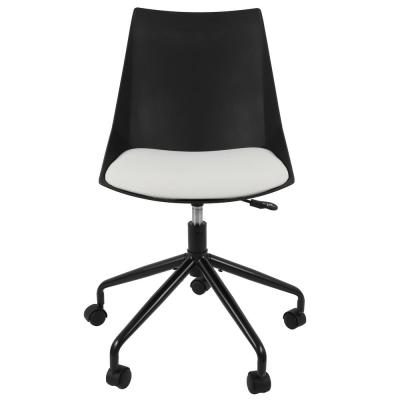 Marlon Black and White Task Chair