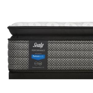 10 sealy response performance 135 in full cushion firm euro pillowtop mattress set