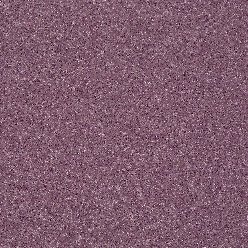 Carpet Sample - Full Bloom II 12 - In Color Frosty Grape 8 in. x 8 in.