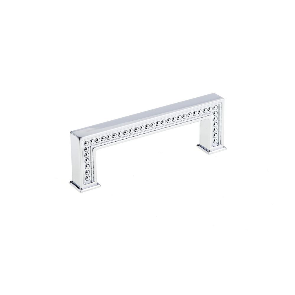 96 mm chrome cabinet pull