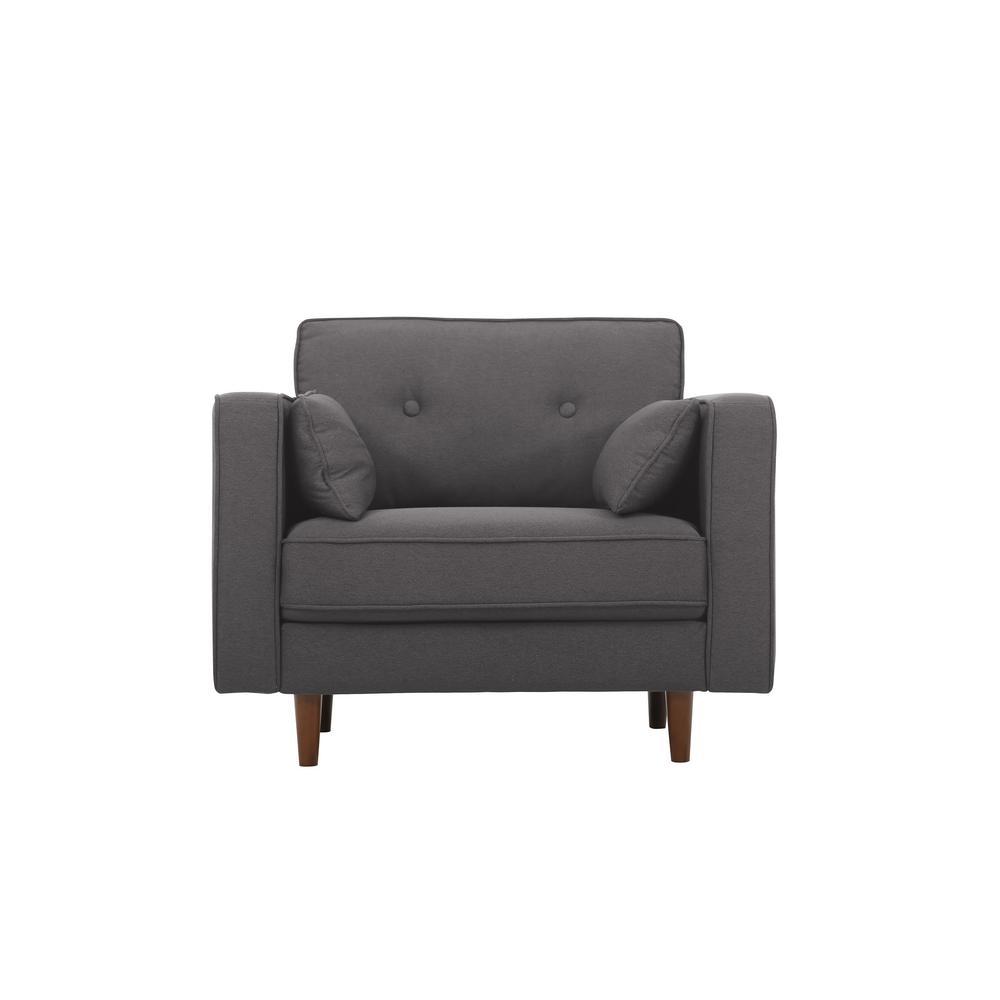 Lifestyle Solutions Tucson Mid Century Modern Chair-LK