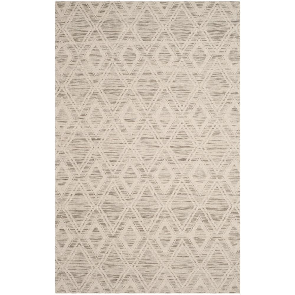 Marbella Light Brown/Ivory 5 ft. x 8 ft. Area Rug