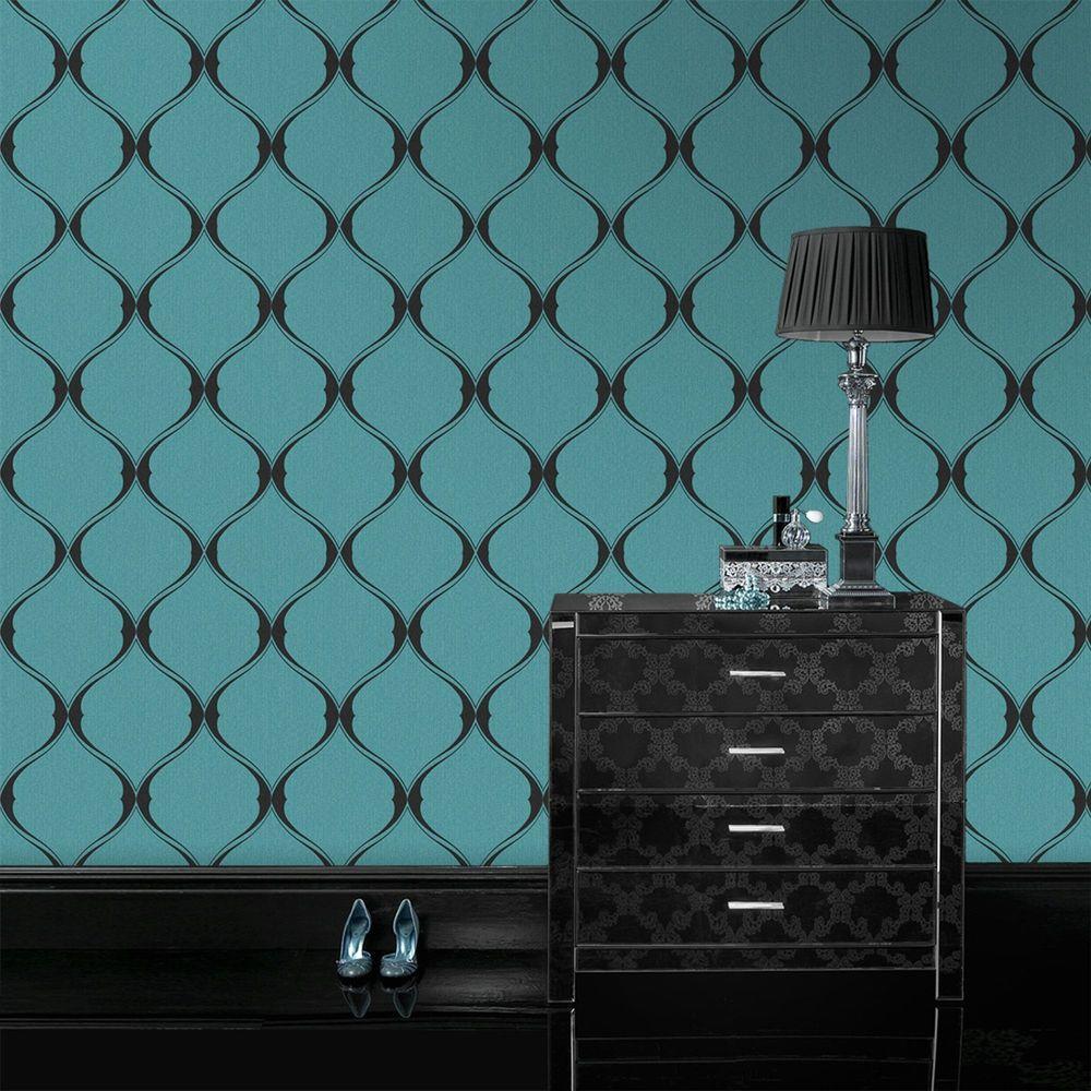 Turquoise Olympus Wallpaper