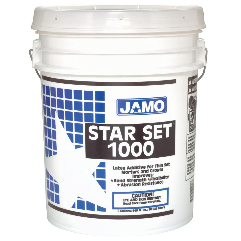 Custom Building Products Jamo Star Set 1000 Latex Additive 5 Gal