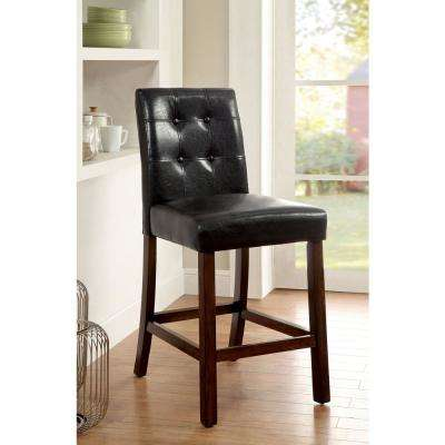 Marstone II Brown Cherry Contemporary Style Side Chair
