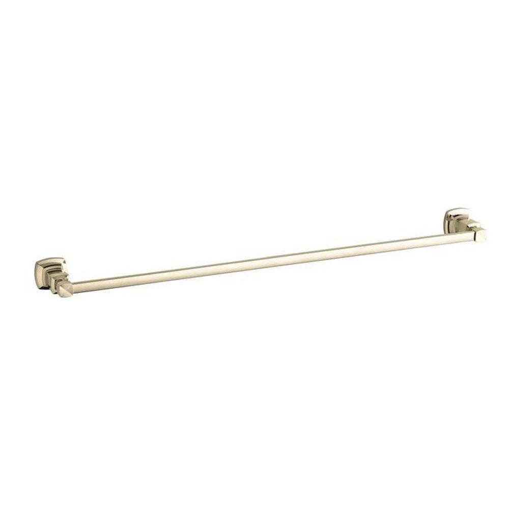KOHLER Margaux 30 in. Towel Bar in Vibrant French Gold