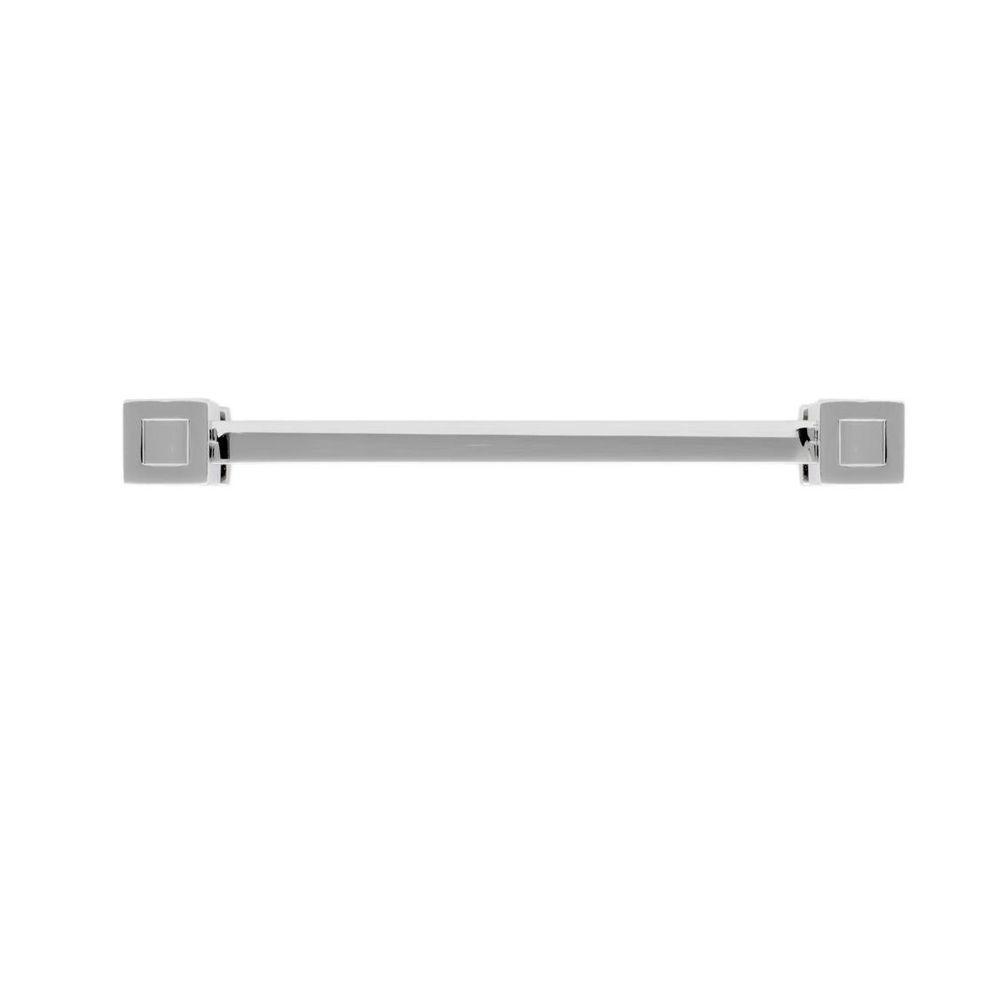 5 in. Polished Nickel Cube End Pull