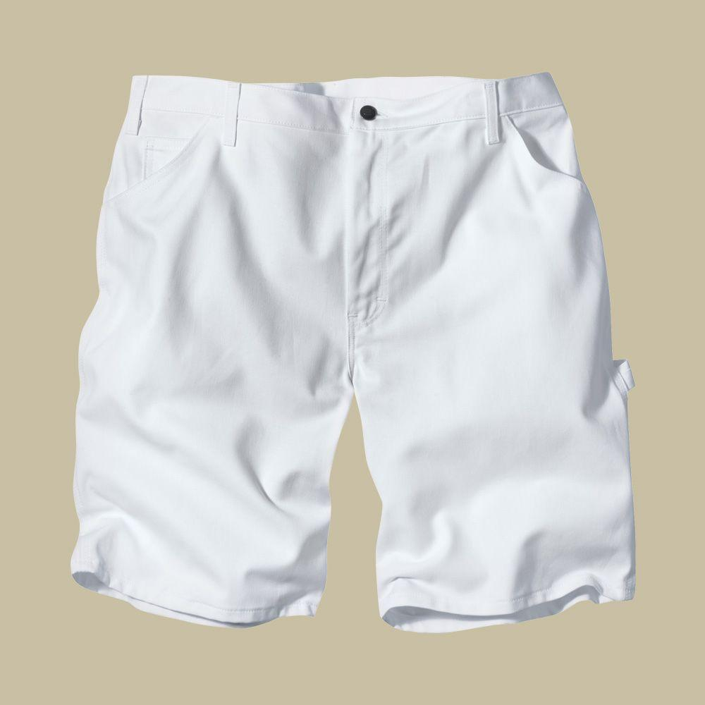 Dickies Relaxed Fit 34 White Painters Short