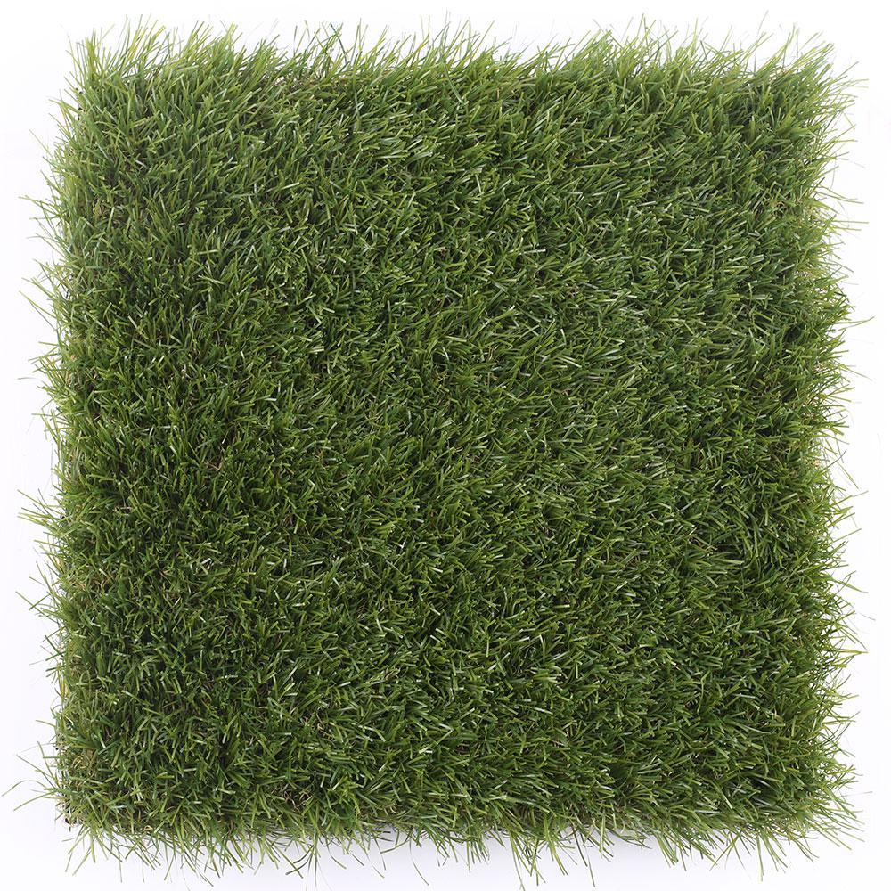 1 ft. x 1 ft. Quick Deck Outdoor Faux Zoysia Grass Deck Tile (10 per case)