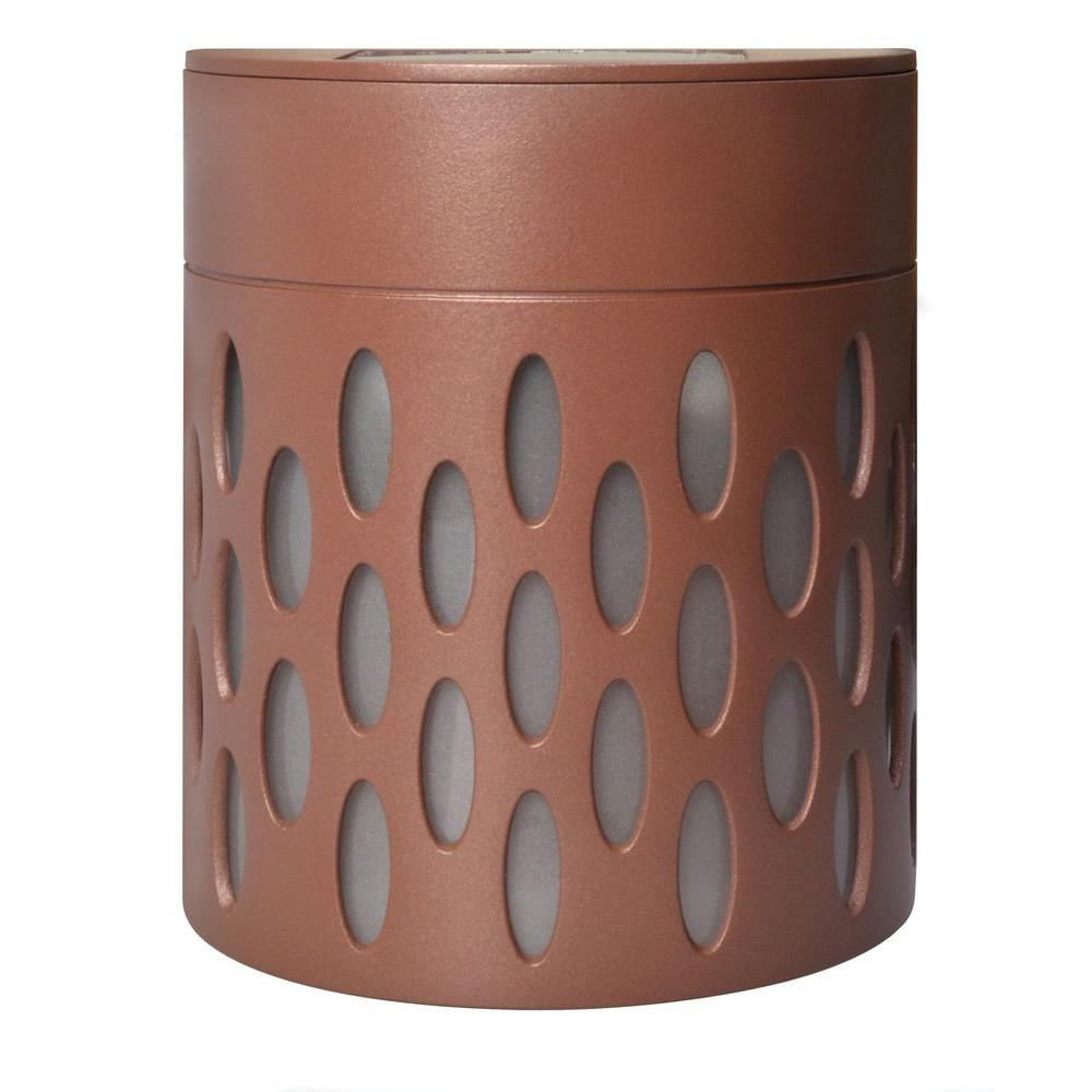 Moonrays Solar Bronze Integrated LED Mini Deck Light-95022 - The ...