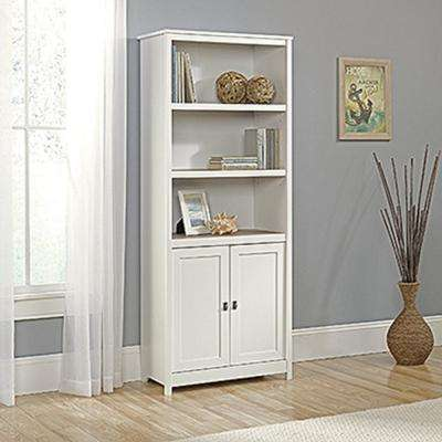 Cottage Road Soft White 2-Door Bookcase