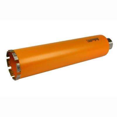 3-1/2 in. Diamond Turbo Core Drill Bit for Concrete Drilling