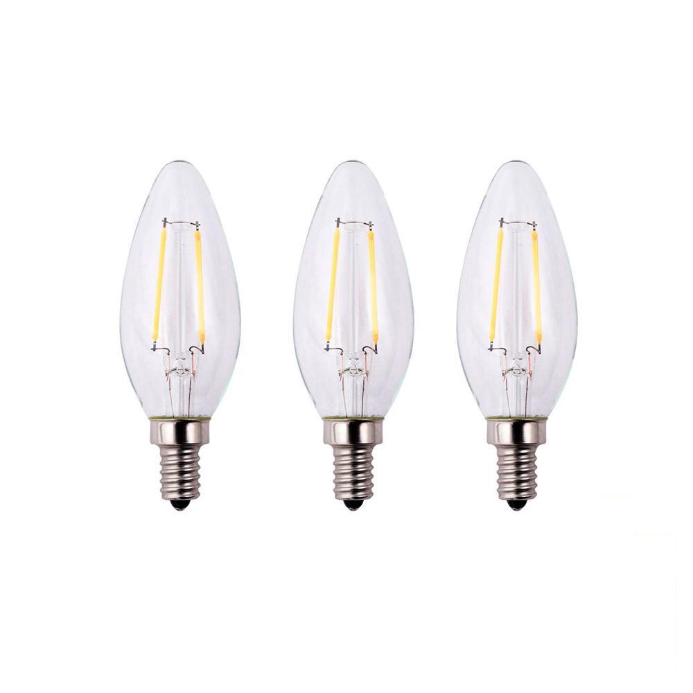 Candelabra - Soft White - Light Bulbs - Lighting - The Home Depot