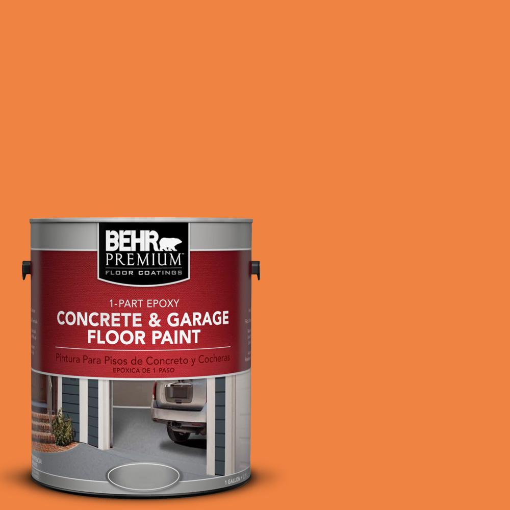 1 gal. #P220-7 Construction Zone 1-Part Epoxy Concrete and Garage Floor Paint