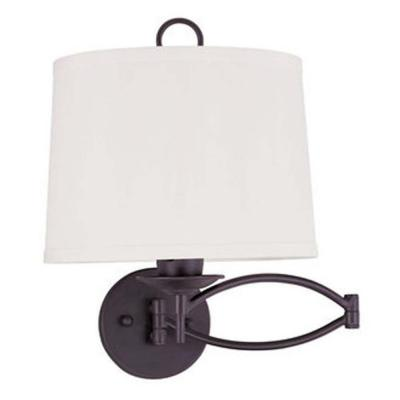 Providence 1-Light Bronze Incandescent Wall Sconce