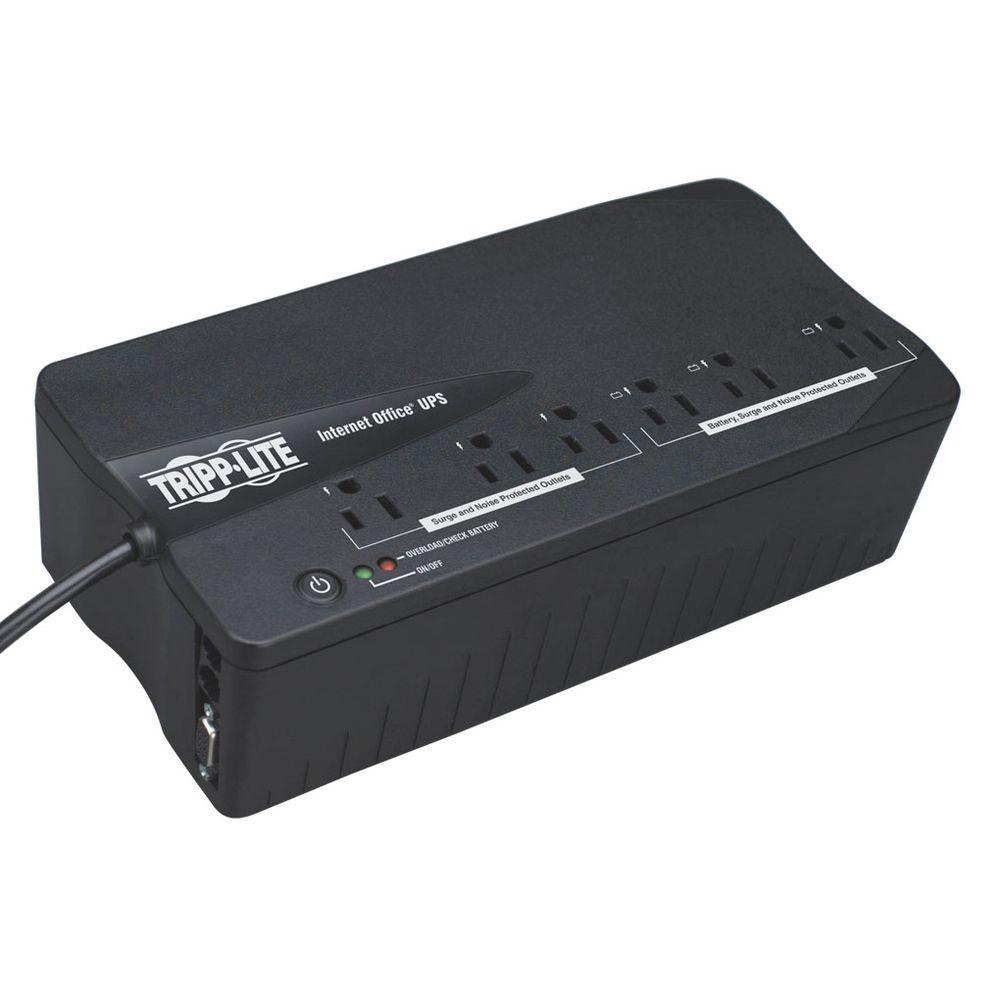 120-Volt 6-Outlet UPS Desktop Battery Back Up Compact DB9 RJ11 PC